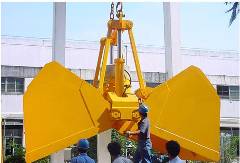 3吨桥式抓斗起重机