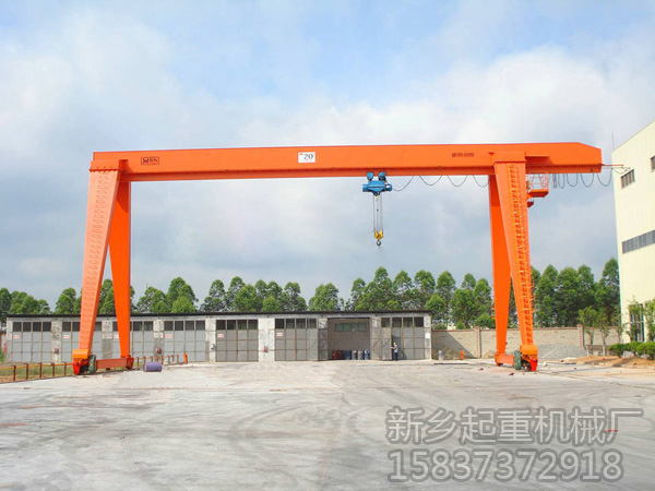 门式起重机检测方法